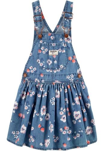 Oshkosh B'gosh blue OSH KOSH Girl Floral Print Jumper 661DDKA4F21141GS_1