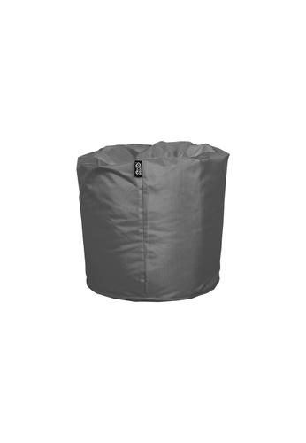 doob grey TOOTSIE - ottoman/footrest doob bean bag (Ash Grey) E2C28HL34B4E6DGS_1