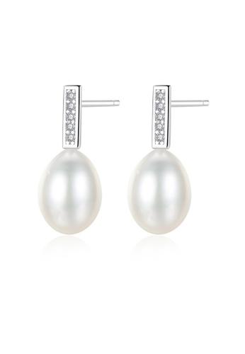 SUNRAIS silver High-grade colored stone silver fashion earrings DB2E0AC28ED953GS_1