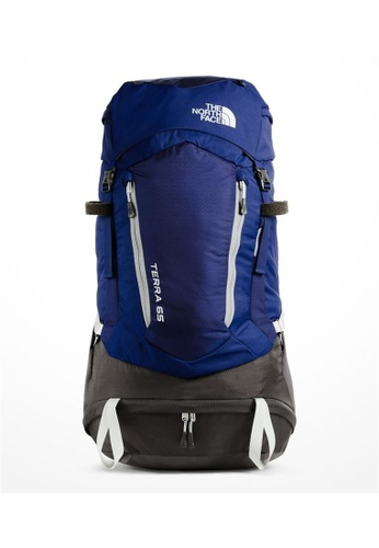 The North Face blue The North Face Terra 65 Blue Hiking Pack 65L  B1951ACF683539GS 1 362db39bbbce