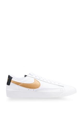 Nike white Blazer Low LE 9CCBESHCA70E40GS_1