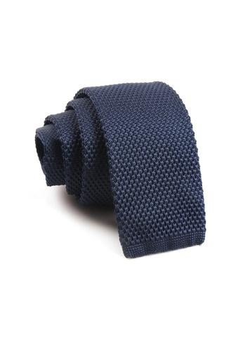 Praise navy Navy Knit Tie PR067AC14SAFSG_1