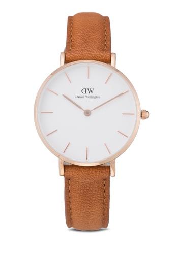 Daniel Wellington brown Classic Petite Durham Watch DA376AC59PLSMY_1