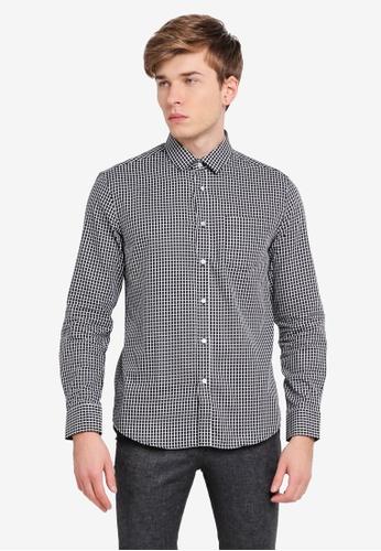 threads by the produce black Long Sleeve Shirt TH122AA0SPBXMY_1