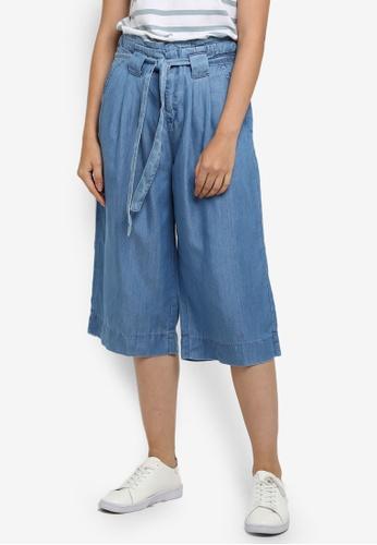 ESPRIT blue Denim Length Service Pants 5E2F4AA1839301GS_1