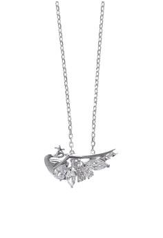 Hansika Silver Necklace