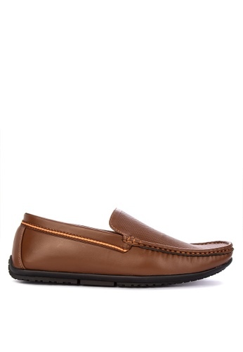 H2Ocean brown Neptune Loafers BF279SHD1C72CCGS_1
