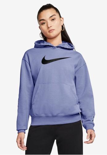 Nike purple Women's Sportswear Swoosh Hoodie 0A42CAA7E84F00GS_1