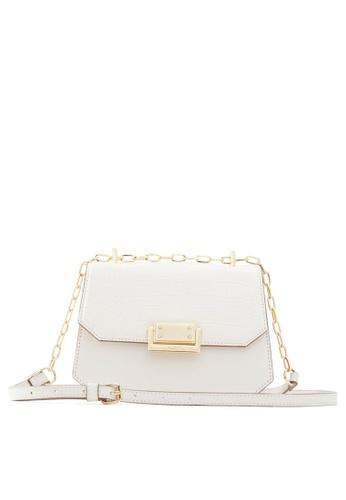ALDO white Felle Crossbody Bag 2D51EAC7C4DAB6GS_1