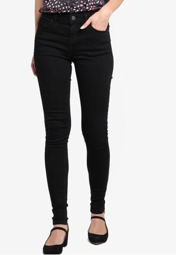 Dorothy Perkins black Black Bailey Jeans DO816AA38FBLMY_1