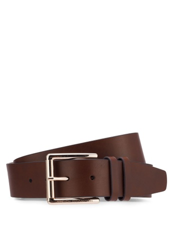 French Connection brown Classic Belt FR878AC0RO7JMY_1