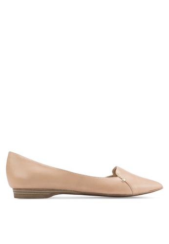 ALDO 米褐色 Adrianne 平底鞋 AL087SH48FITMY_1