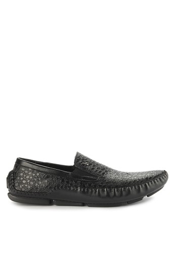 Playboy black Gallant Loafer 3BA31SH3FA74FAGS_1