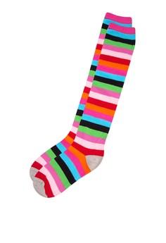 Casual Knee-Hi Multicolor Stripes