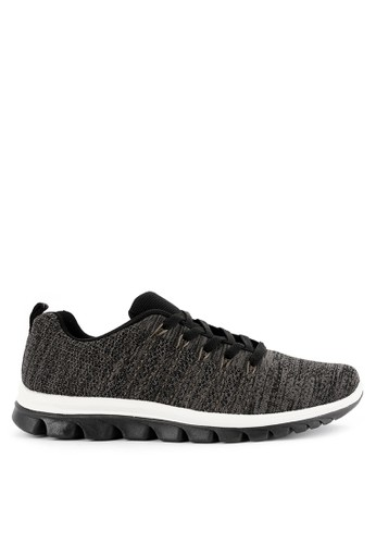 Hush Puppies black and multi Casual Jobe D627DSH8021180GS_1