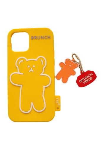 Kings Collection yellow Cute Bear iPhone 12 Pro / 12 Case (UPKCOCS21039) B139DACAE8C478GS_1