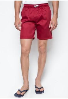 RE14 Men's Tailored Shorts in Crimson