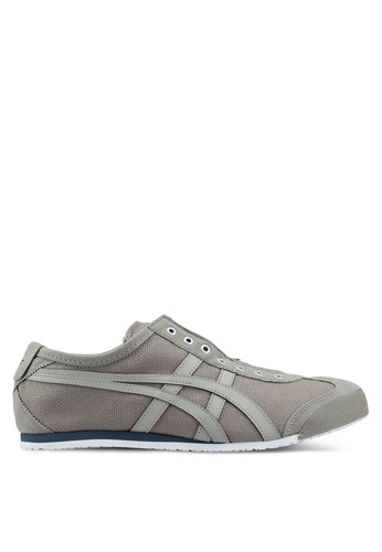 Onitsuka Tiger brown Mexico 66 Slip-Ons ON067SH0SVVWMY_1