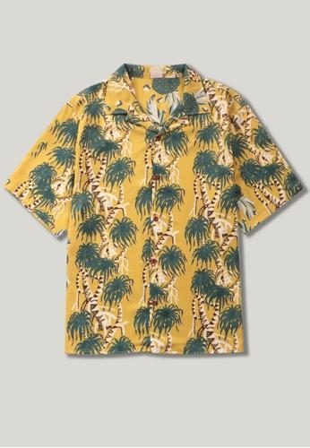Twenty Eight Shoes Coconut Printed Aloha Shirt MD206032 76603AA1245F7FGS_1