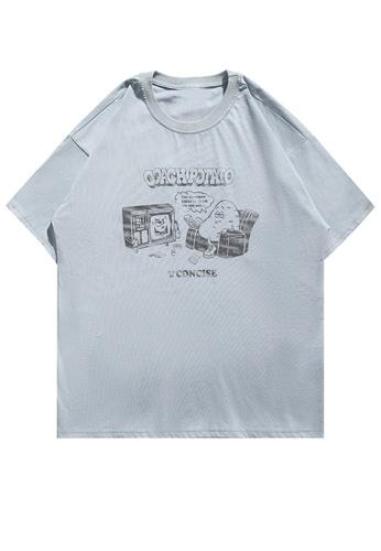 Twenty Eight Shoes Cartoon Printed Short T-shirt HH1136 A1107AAC1AB73DGS_1