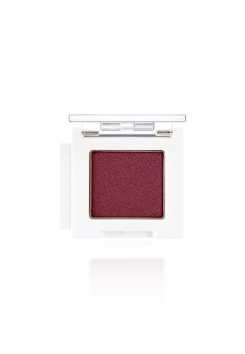THE FACE SHOP red Mono Cube Eyeshadow (Shimmer)  PK04 Midnight Burgundy 7C5AEBE514DA7FGS_1