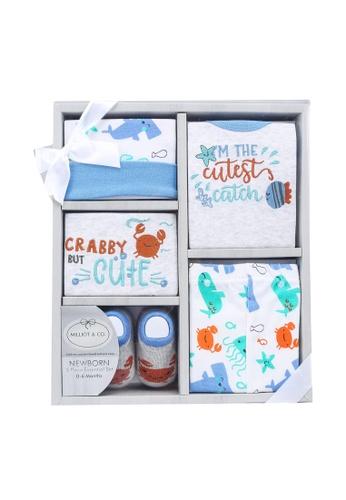 Milliot & Co. grey Aurora Girls Gift Set 9E1CBKCA3F8F63GS_1