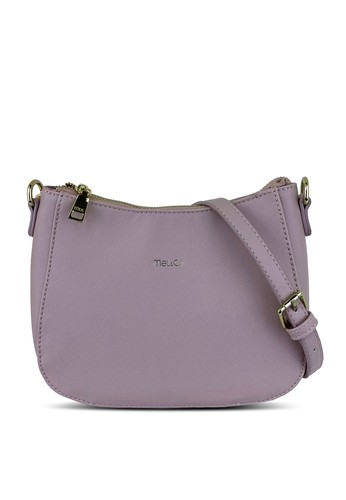 Mel&Co pink Faux Leather Sling Bag 32BAFACA93F798GS_1