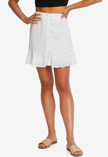 The Fated white Fae Mini Skirt 0DE47AA202AB15GS_1