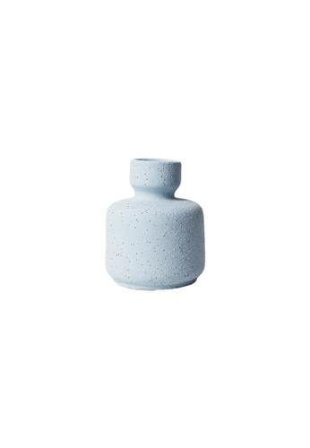 DILAS HOME Mid-century Morandi Inspired Vase (Blue) BF713HL225DCBDGS_1