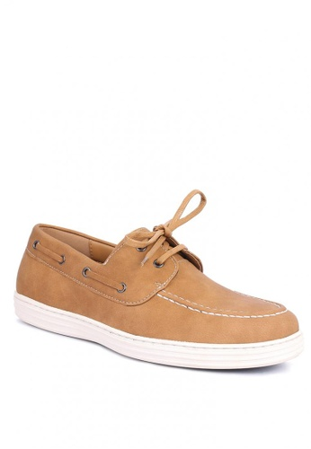 7soles brown Yuri Men's Loafers AFAB3SH8B0D3D5GS_1