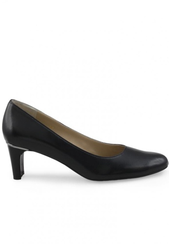 Shu Talk black Round Toe Nappa Leather High Heels SH617SH2UXHDHK_1