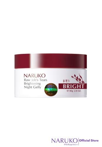 Naruko red Naruko Raw Job's Tears Brightening Night Gelly 80g NA951BE14UTXPH_1