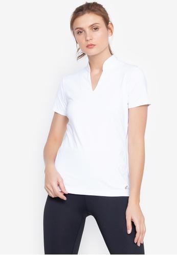 Forbs white Ame Polo Shirt 9C8B8AA5C52AEDGS_1