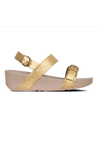 FitFlop gold Fitflop Edit Back-Strap Sandals Artisan Gold 2BD7ASH0A5A480GS_1