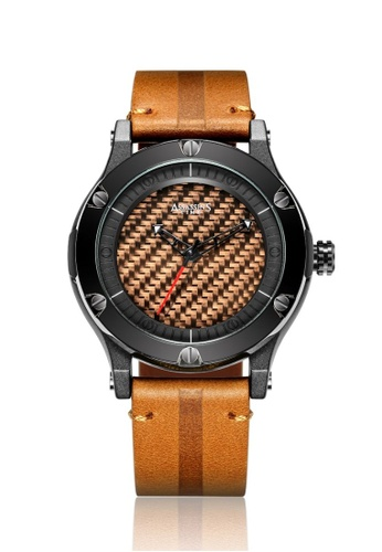 Assassin's Time brown Assassin's Time MAZE Brown Leather E4D51AC200C46AGS_1