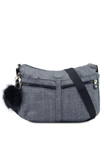 Kipling grey Izellah Sling Bag ED855AC0828832GS_1