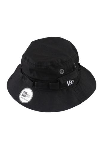 New Era 黑色 Adventure 漁夫帽 ABEBFAC39ECC30GS_1