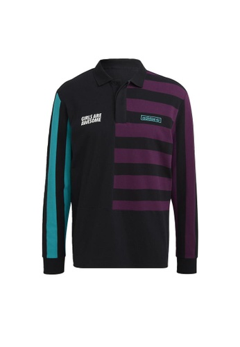 ADIDAS black adidas Originals Girls Are Awesome Long Sleeve Shirt Polo Unisex 9446FAA5D34BBBGS_1