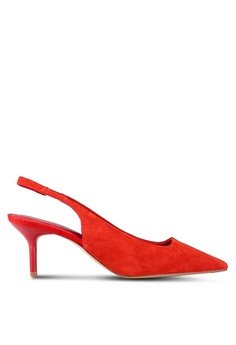 6cc0a582b66 MANGO red Leather Heels 8DB3DSHB77CF9AGS 1