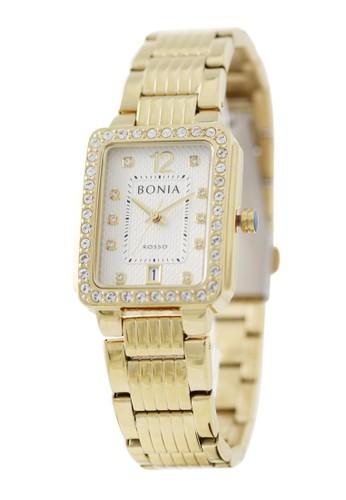 BONIA gold Bonia Rosso - BR156-2215S - Jam Tangan Wanita - Gold E84E9AC5BA3B02GS_1