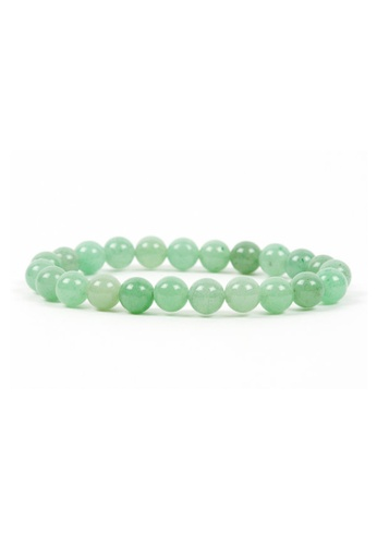 Memento Collection green Simple Ladies Amazonite Bracelet ME060AC22TEJMY_1