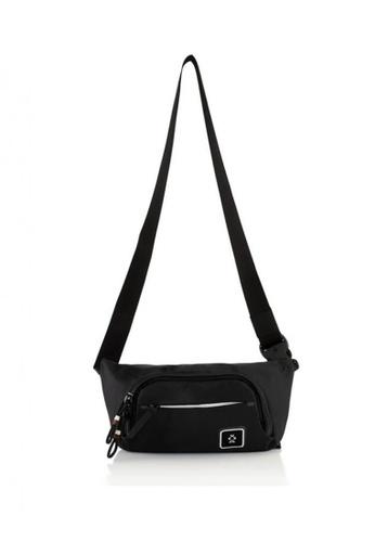 CRUMPLER black Stash Hip Pack B7047ACF606D71GS_1