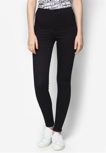 TOPSHOP black MOTO Black Joni Jeans NE182AA99AROMY_1