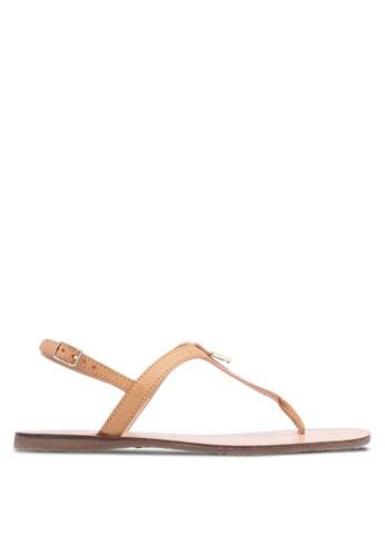 Christy Ng brown Luna Tan Summer Sandals CH330SH0RXP8MY_1