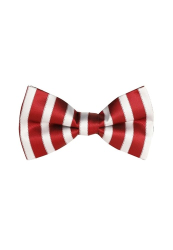 Buckle white and red Candy Bow Tie with Pocket Hanky FE427AC5E8C02CGS_1