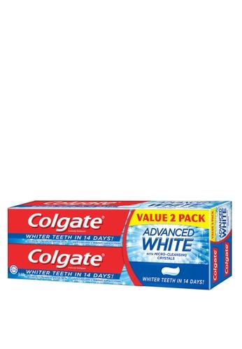 COLGATE Colgate Advanced White Whitening Toothpaste Valuepack 160g x 2 95B09ES2BC02CDGS_1