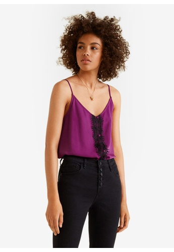 Mango purple Lace Top 8ACCAAA361A2C8GS_1