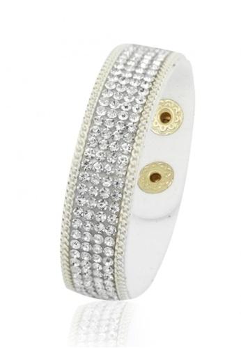 Her Jewellery white Sparkling Bracelet (White) HE581AC0RAEOMY_1