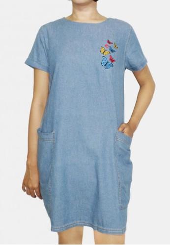 Factor blue FACTOR - VELLY DRESS 45739AAA5574B2GS_1