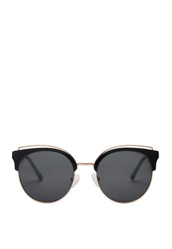 Carin black Deborah C1 Sunglasses F9E14GL544D0CFGS_1